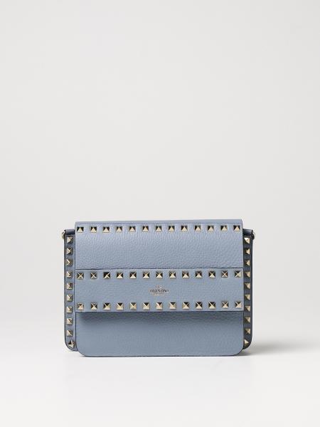 Valentino women: Valentino Garavani Rockstud leather crossbody bag