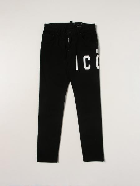 Dsquared2 Junior Icon 5-pocket jeans ripped
