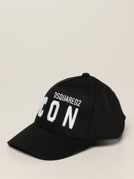 Dsquared2 Junior cotton baseball cap