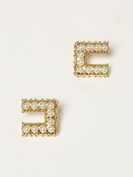 Orecchini Elisabetta Franchi con micro perle