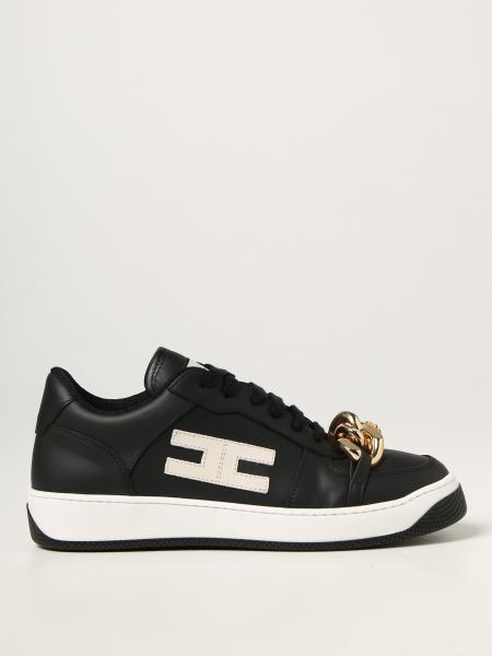 Sneakers chain Elisabetta Franchi in pelle