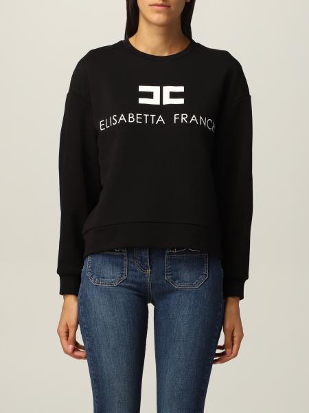 Elisabetta Franchi femme: Sweat-shirt femme Elisabetta Franchi
