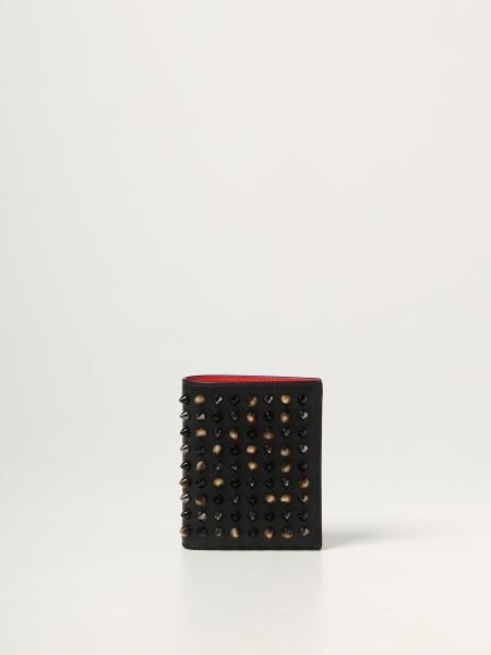 Paros Christian Louboutin wallet with studs