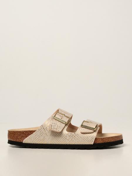 Arizona Birkenstock sandal in synthetic leather