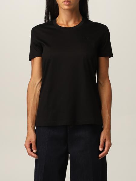 Emporio Armani cotton t-shirt with back logo