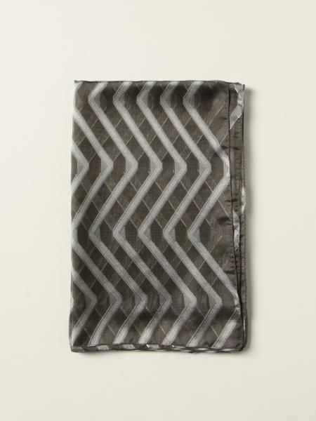Emporio Armani scarf in patterned organza