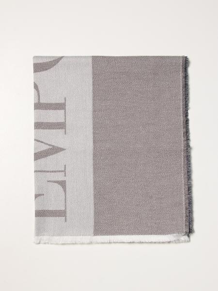 Emporio armani scarf with big logo