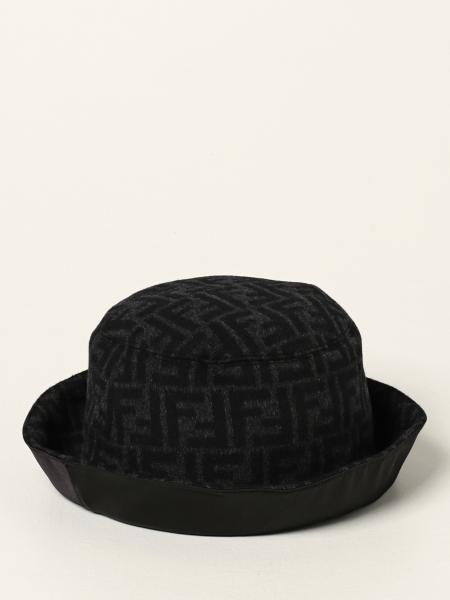 Fendi fisherman hat with all over logo