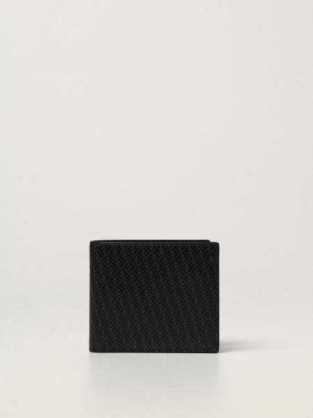 Fendi leather wallet with FF logo