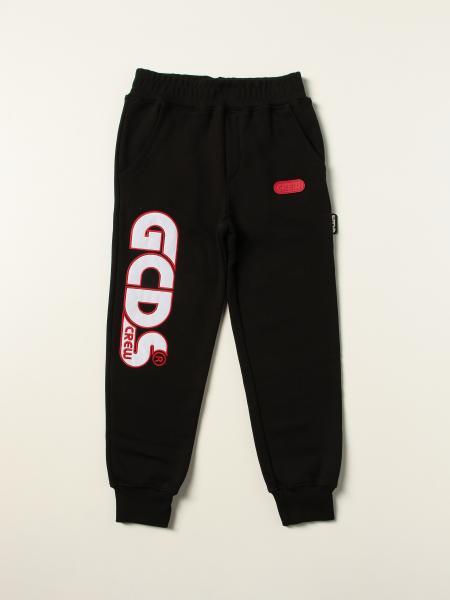 Pantalone jogging Gcds in cotone con maxi logo