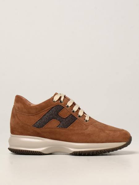 Interactive Hogan 绒面革运动鞋