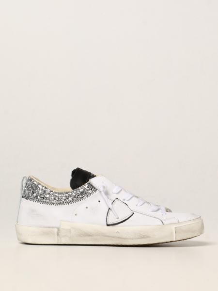 Philippe Model donna: Sneakers Paris Philippe Model in pelle