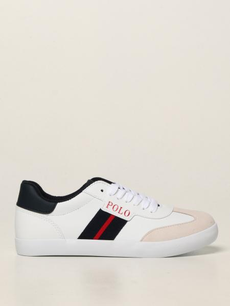 Niall Polo Ralph Lauren sneakers in synthetic leather