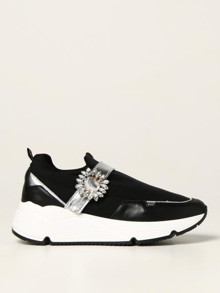 Twin Set trainers in neoprene and leather