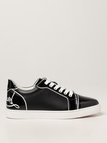 Christian Louboutin women: Fun Viera Christian Louboutin sneakers in leather