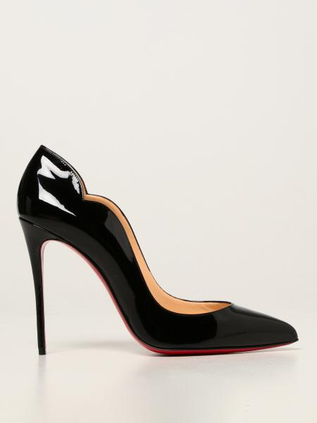 Christian Louboutin women: Hot Chick Christian Louboutin patent leather court shoes