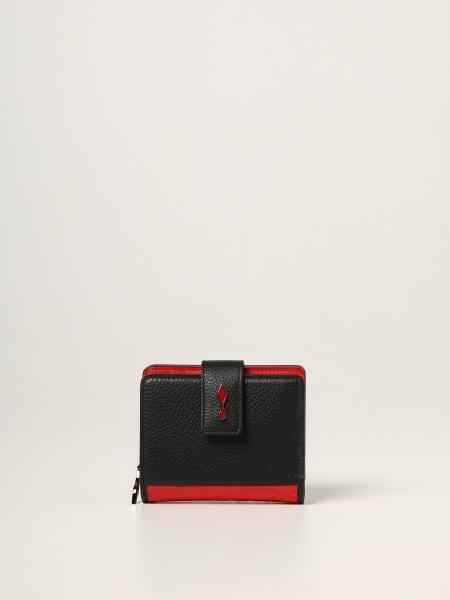 Christian Louboutin: Paloma Christian Louboutin wallet in calfskin