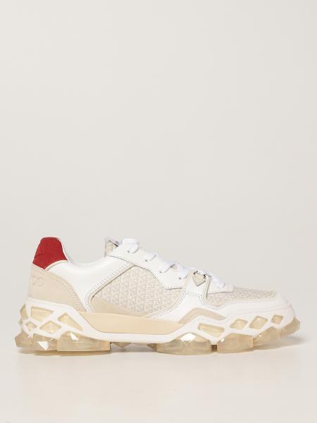 Sneakers Diamond X Trainer/F Jimmy Choo in pelle e nylon