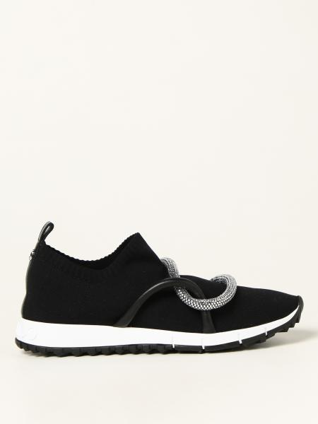 Sneakers Quito Jimmy Choo in maglia