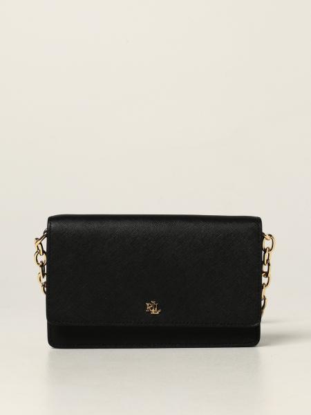 Lauren Ralph Lauren shoulder bag in saffiano leather