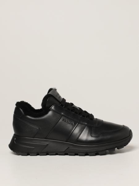 Prada men: PRAX 01 Prada sneakers in leather