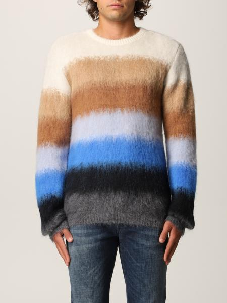 N ° 21 sweater in wool and cashmere blend