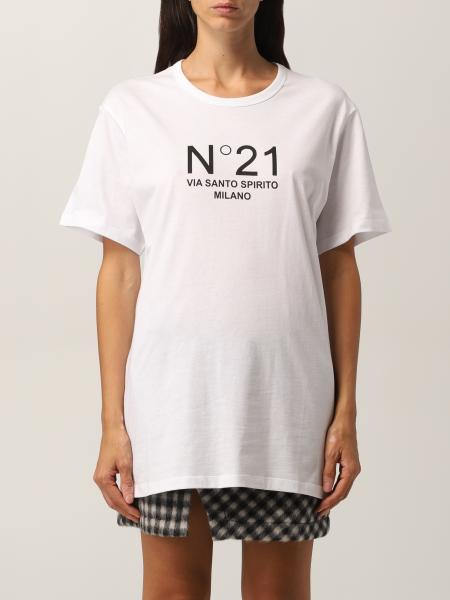 N ° 21 T-shirt in cotton jersey