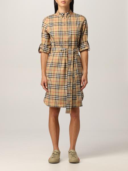 Giovanna Burberry cotton shirt dress
