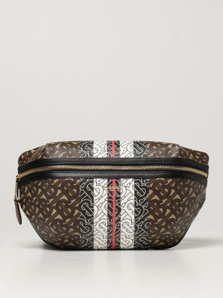 Burberry women: Bum Burberry E-canvas belt bag with logo