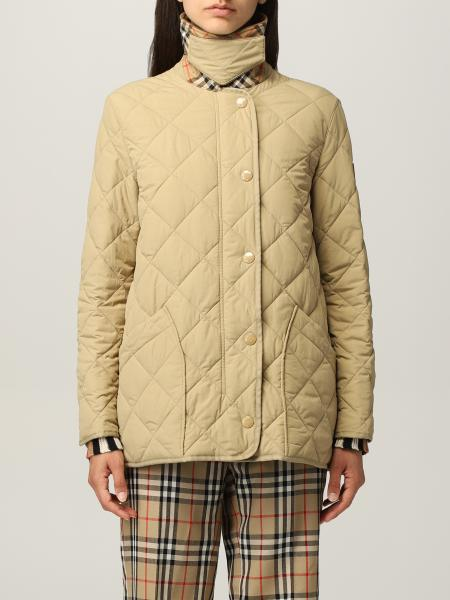 Burberry jacket with thermoregulation and diamond quilting