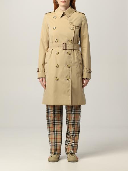 The medium Kensington Burberry trench coat