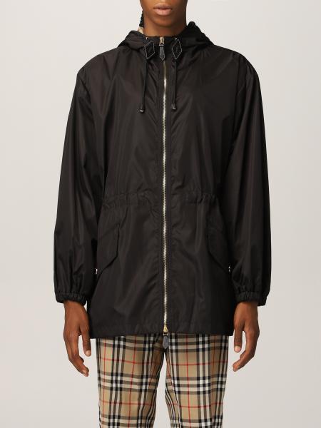 Lightweight Burberry jacket with ECONYL® hood