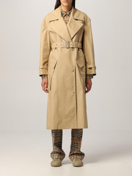 Laxton Burberry coat in technical cotton