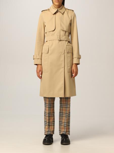 Burberry trench coat in cotton gabardine