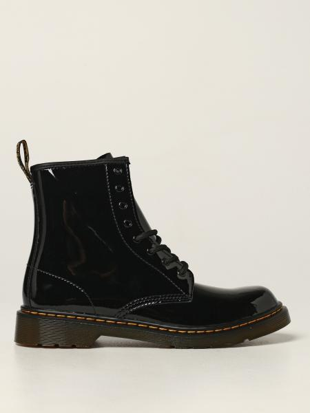 1460 Y Dr. Martens boots in patent leather