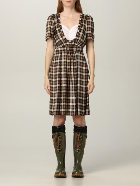 Dsquared2 女士: Dsquared2 格纹短款连衣裙