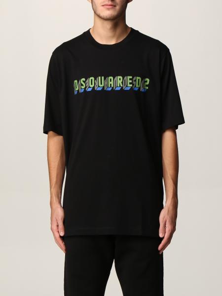 T-shirt Dsquared2 in cotone con logo