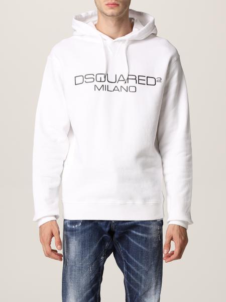Dsquared2 uomo: Felpa Dsquared2 con logo