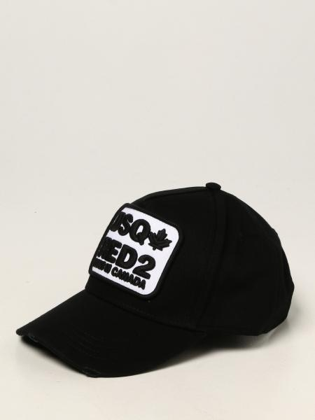 Dsquared2 men: Dsquared2 hat with logo