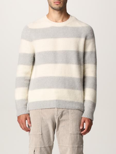 Maglia Eleventy in misto lana e cashmere a righe