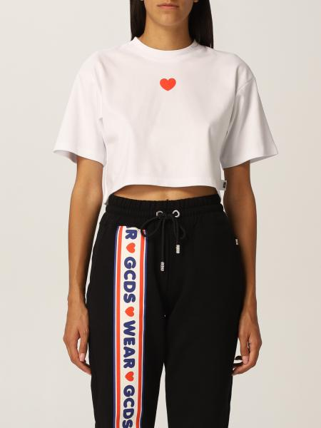 Lovely Gcds cotton cropped T-shirt
