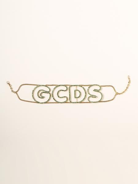 Gcds donna: Collana choker Gcds con strass