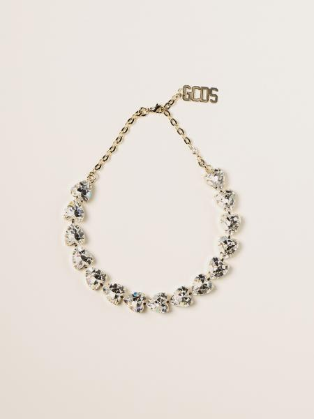 Gcds women: Hearth choker Gcds necklace with crystals