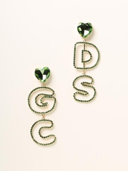 Gcds women: Maxi Gcds earrings with crystals