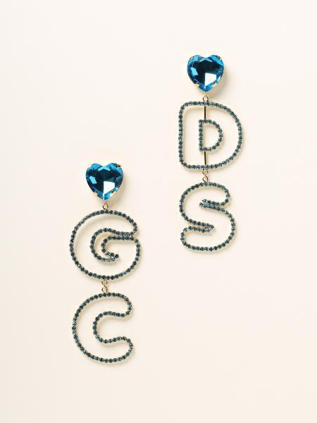 Gcds donna: Orecchini Maxi Gcds con cristalli
