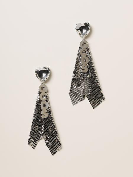 Gcds women: Maxi Gcds earrings with metal mesh