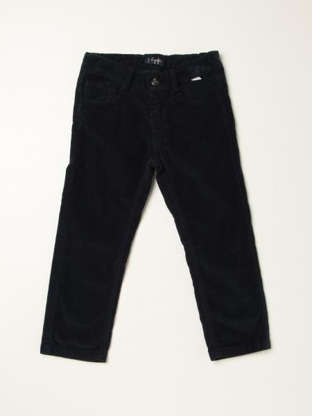 Il Gufo trousers with 5 pockets in velvet