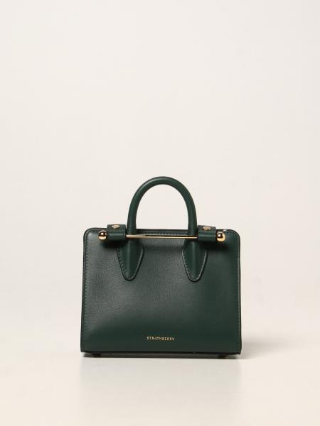 Strathberry nano tote bag in leather