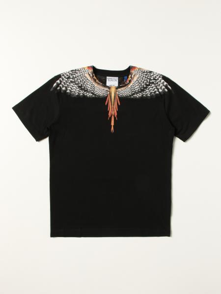 T-shirt Marcelo Burlon County of Milan in cotone con stampa Ali