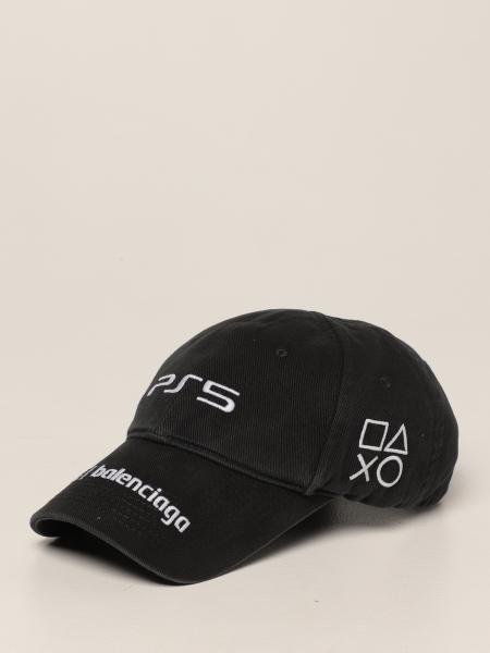Cappello da baseball Balenciaga con logo playstation